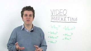 The Whys, Whats, Wheres and Whens of Video Marketing