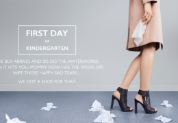 "Nine West ad – ""First Day of Kindergarten"" shoes thumbnail"