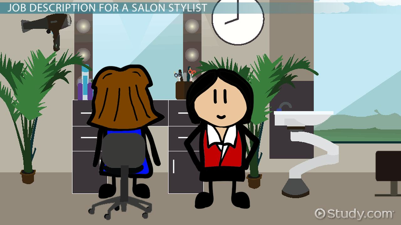 salon stylist job description duties and requirements
