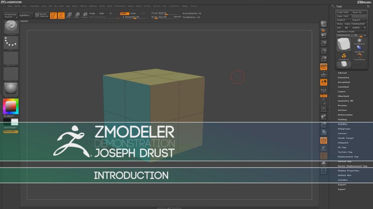 ZModeler Introduction