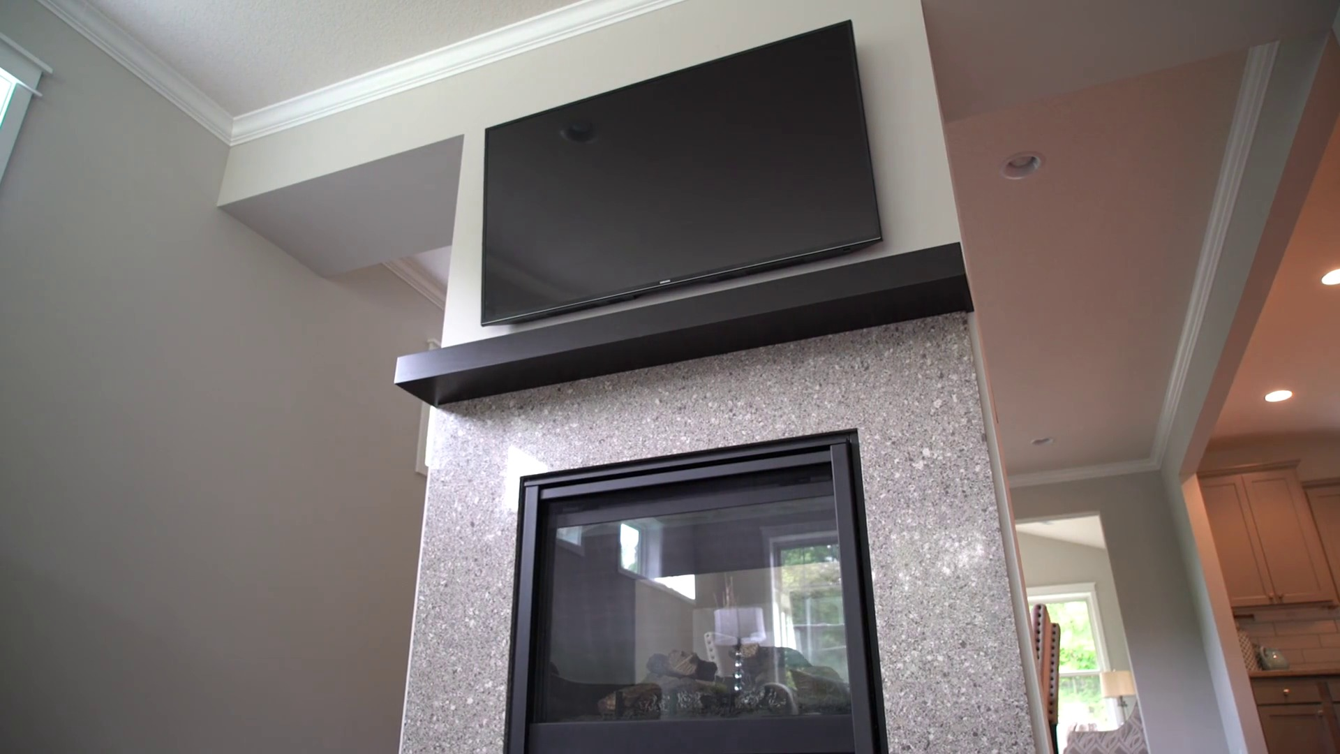 what to consider before mounting your tv above a fireplace video