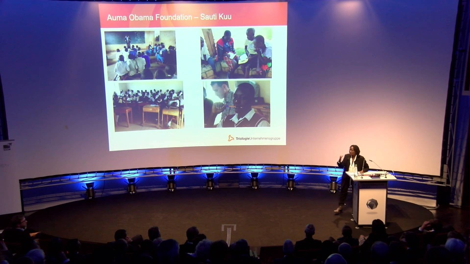 Transformation World 2018 – Closing Keynote Day 1: Dr  Auma Obama - Sauti  Kuu – Starke Stimmen