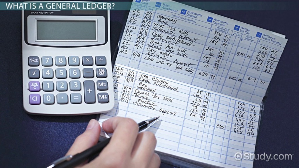 What Is A General Ledger? - Definition & Examples - Video & Lesson
