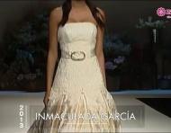 Bestickte Brautkleider aus den Kollektionen der Designer für das Jahr 2013