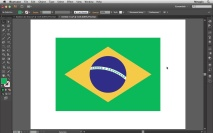 Bandeira do Brasil 03 - Desenhando a Base