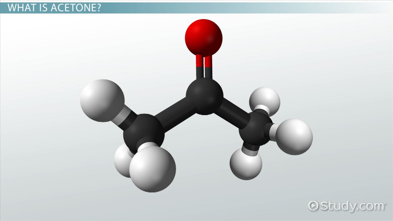 What is Acetone? - Structure, Uses & Formula - Video & Lesson ...