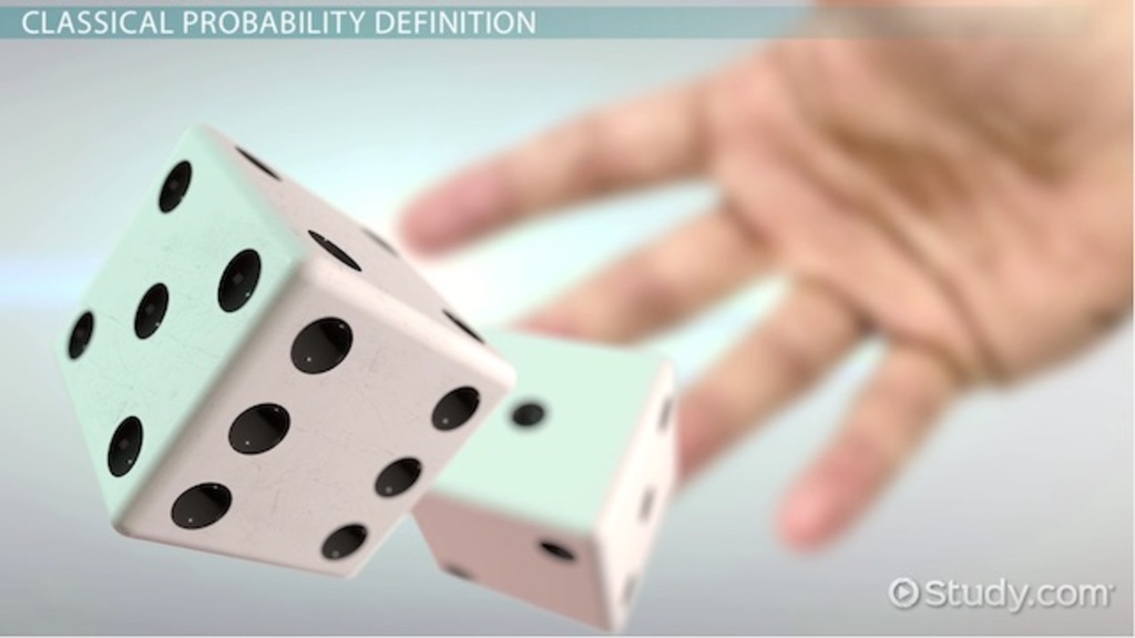Classical Probability Definition Approach  Examples  Video