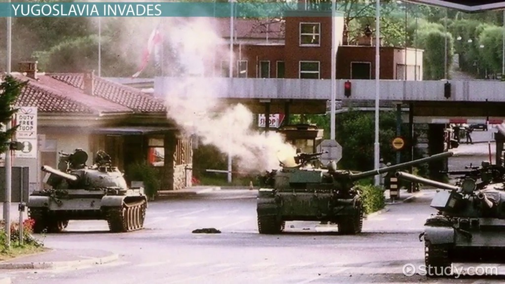 The 'Ten-Day War' & Slovenian Independence - Video & Lesson Transcript | Study.com
