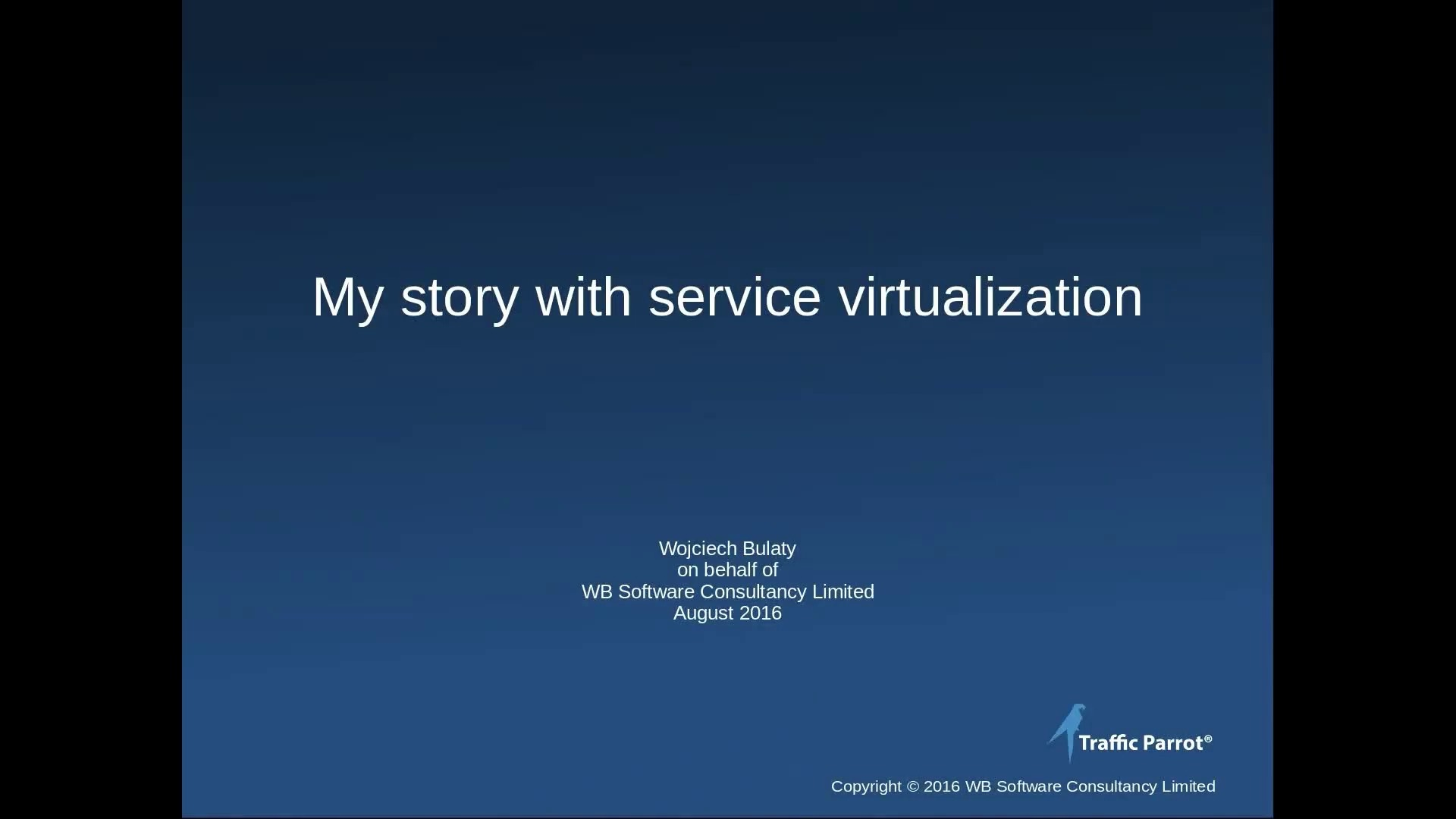 My story with service virtualization, CA Lisa and Wiremock