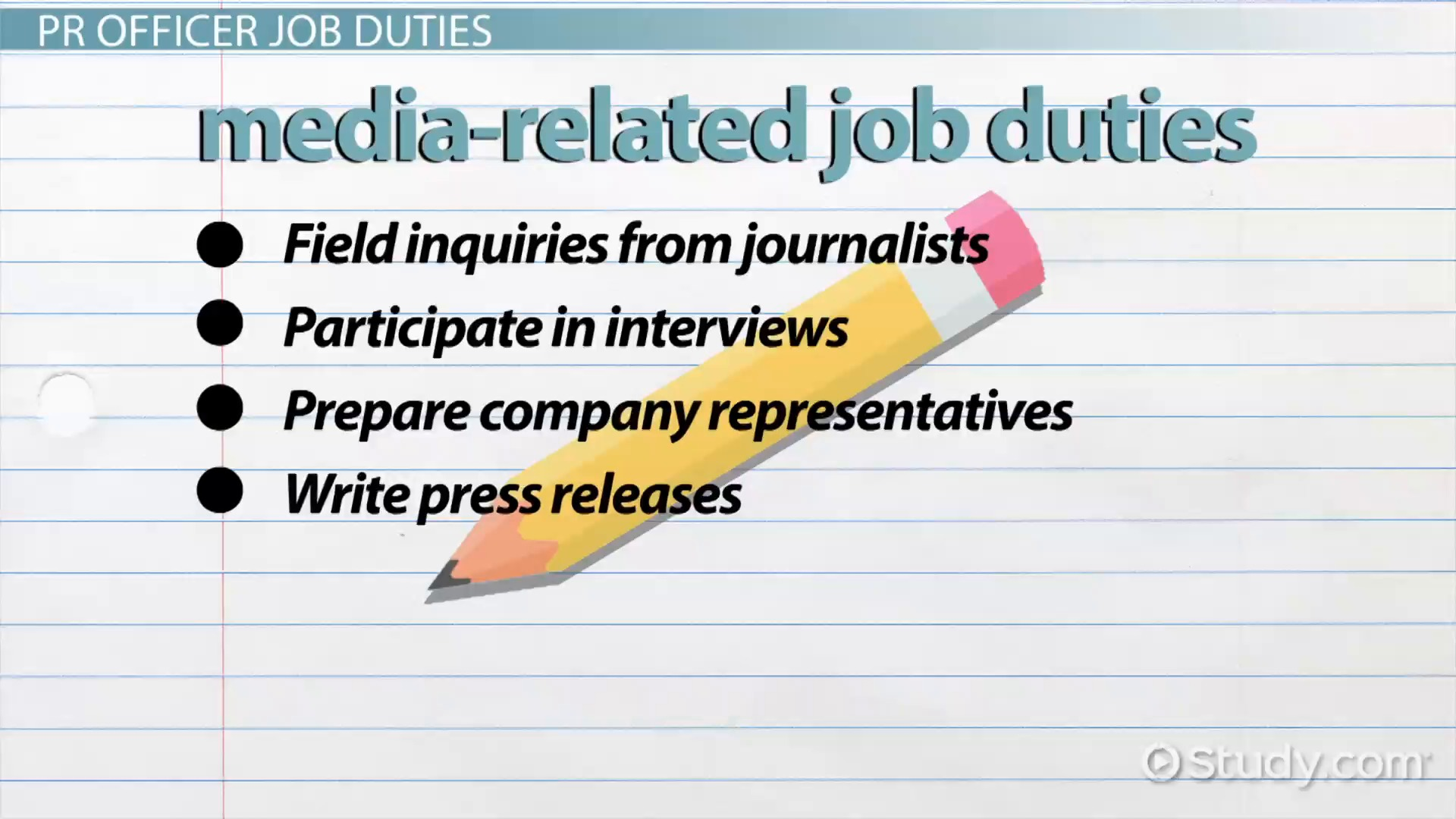 ... Public Relations Officer Job Duties And Requirements ...
