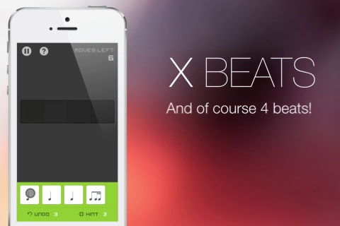 Xbeats. A Music Puzzle Game.