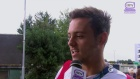 Tom Daley Interview at Glasgow Airport 04/08/14