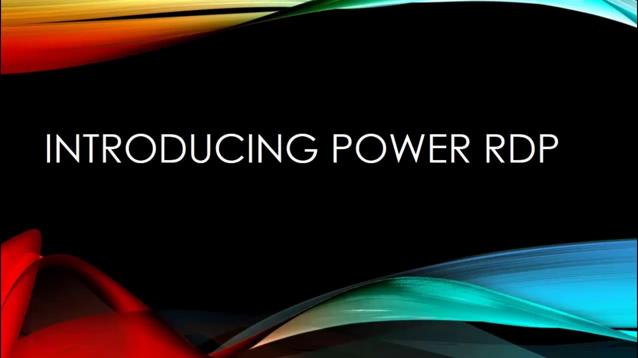 Power RDP - Run your Access Database in any Web Browser