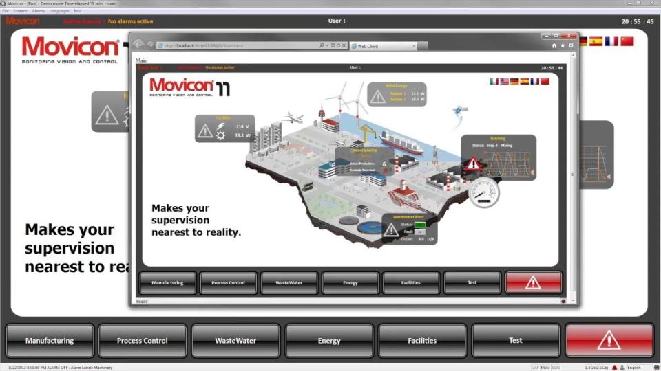 Progea's Movicon 11 SCADA/HMI Software