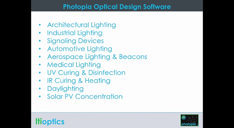 photopia optical design software with solidworks add in