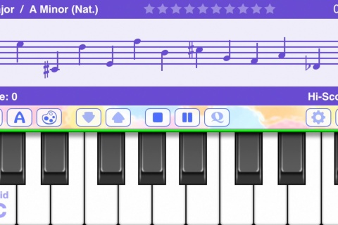 Piano Notes Fun - best music note trainer.