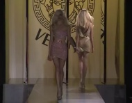 Fashion Runway Versace Fall 2012