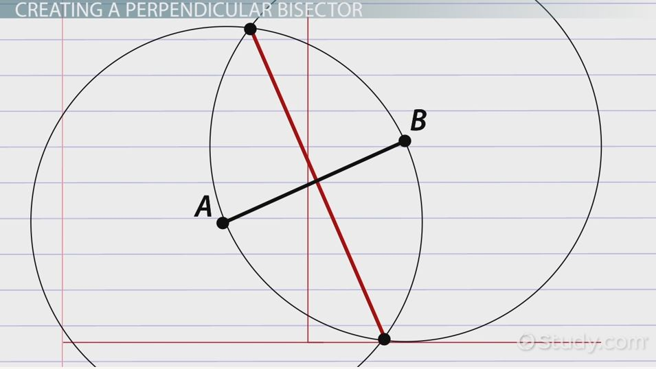 Perpendicular Bisector Definition Theorem Equation Video – Perpendicular and Angle Bisectors Worksheet