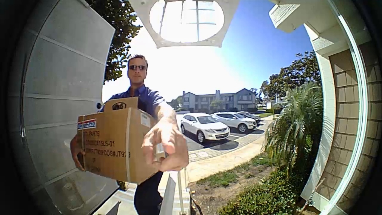 Wistia video thumbnail - New! GoControl Doorbell Camera
