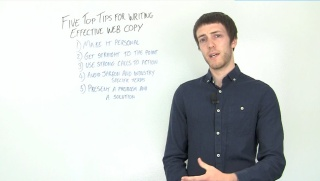 Five Top Tips For Writing Effective Web Copy