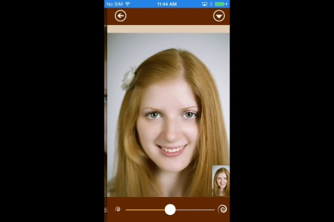 FacePlusFree. Retouch your selfie.