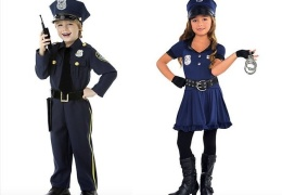 Toddler Police Costumes for Boys and for Girls thumbnail