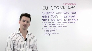 How To Be Cookie Law Compliant: Video Guide