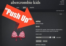 Abercrombie and Fitch - Push Up Bra thumbnail