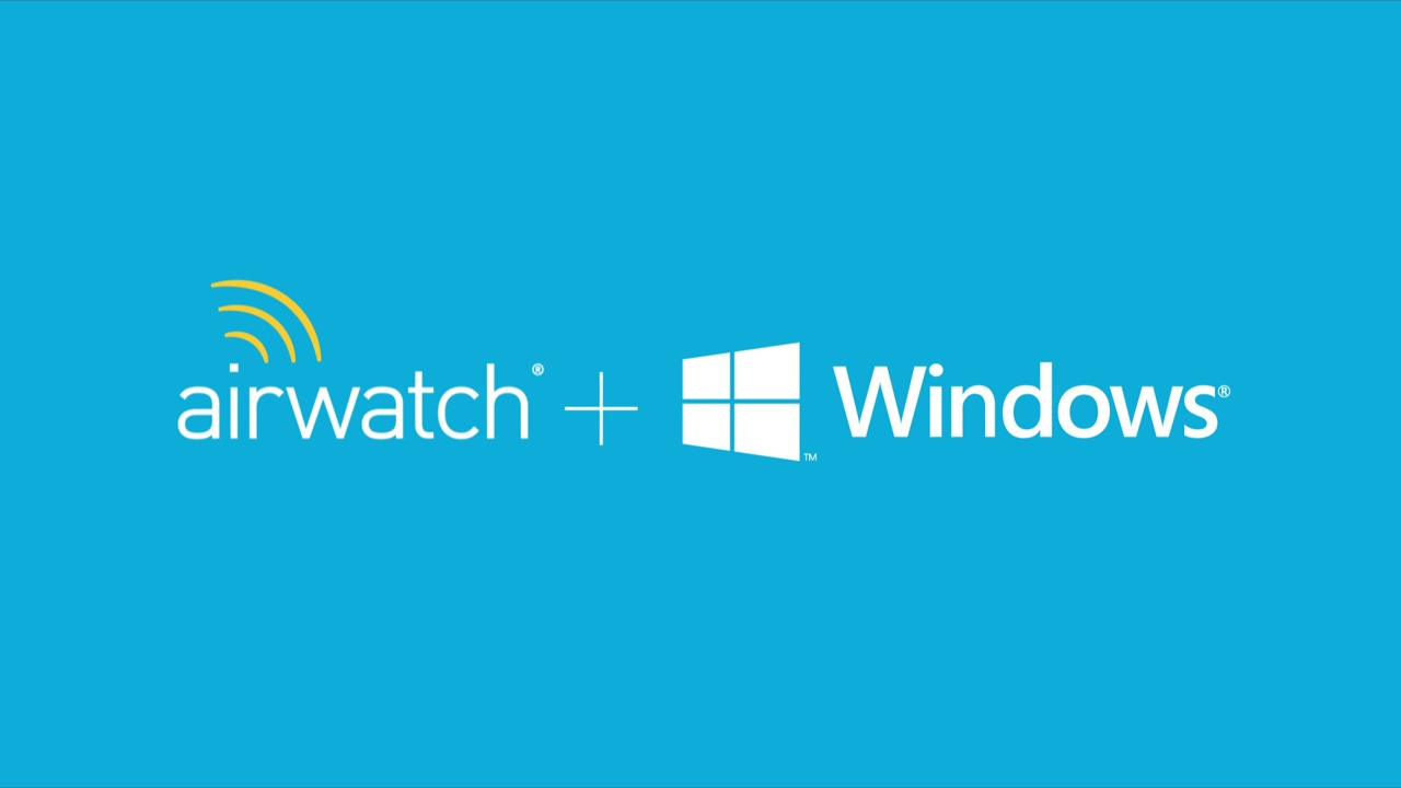 Windows 8.1 Management with AirWatch