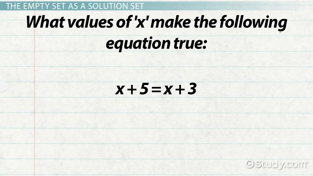 The Empty Set in Math Definition Symbol Video Lesson – Converse Inverse Contrapositive Worksheet