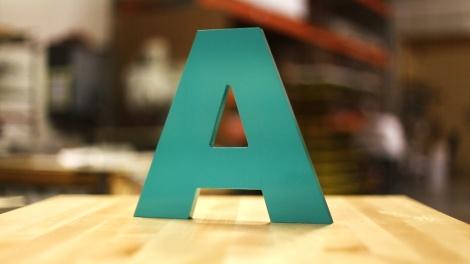 Acrylic Plastic Letters