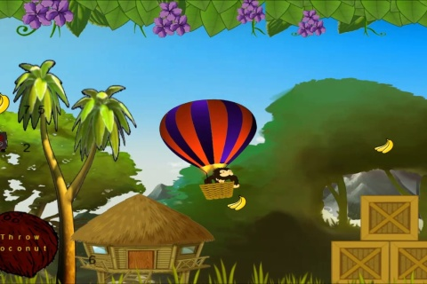 Tribal Fruit is a classic platformer game.
