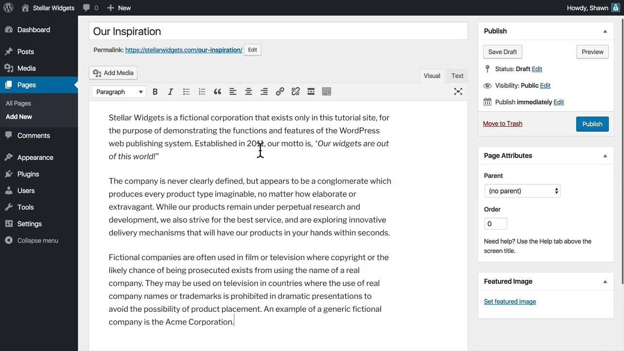 wordpress tutorial videos - hostable
