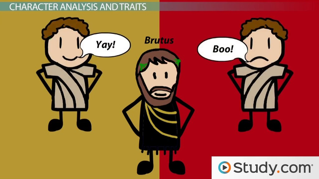 Character Of Brutus In Julius Caesar Traits  Analysis  Video