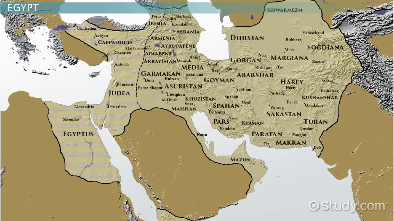 The Ancient Nile Valley Civilizations Region Facts Video - Map of ancient egypt kush and israel