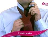 Cómo hacer en nudo de corbata en 5 pasos