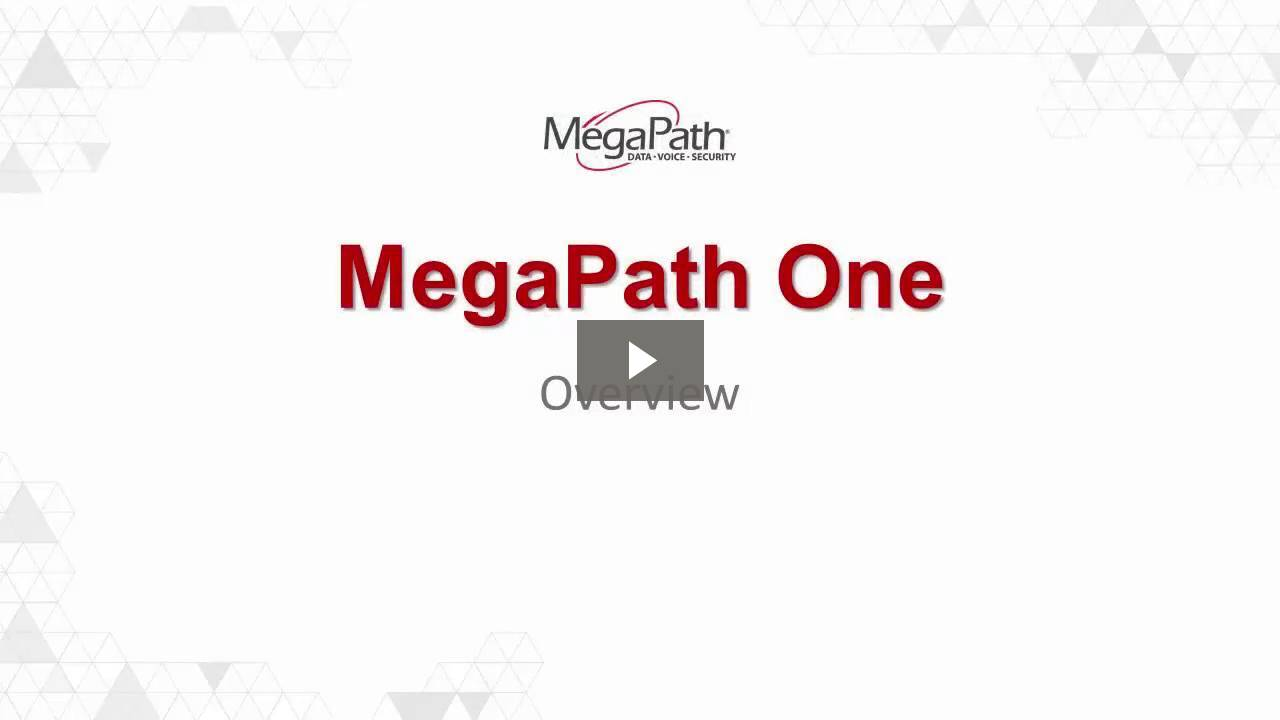 How-to Video Series for MegaPath One