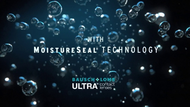 Wistia video thumbnail - Bausch + Lomb ULTRA with MoistureSeal technology