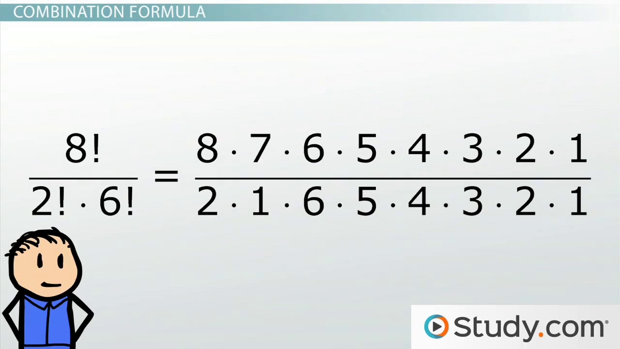What are the benefits of using a program to compute number combinations?