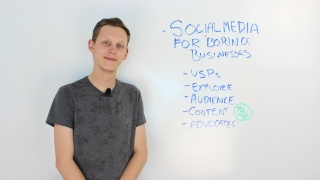 Social Media Tips For Boring Industries
