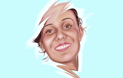 Digitally Painting Glamour Shots In Adobe Photoshop