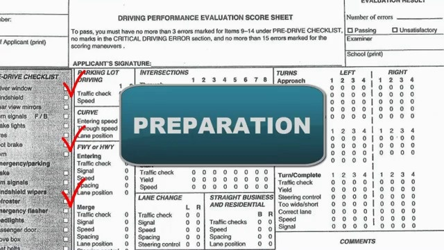 Driving Test Preparation