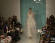 Pasarela de vestidos de novia Reem Acra 2013