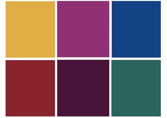 Dressing for the camera wistia blog - Jewel tones color palette ...