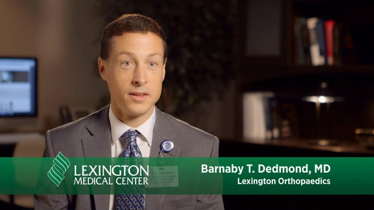 Barnaby T Dedmond Md Lexington Medical Columbia Sc Hospital