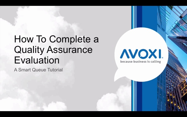 Wistia video thumbnail - How to Complete a Quality Assurance Evaluation