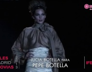 Desfile vestidos de noiva Pepe Botella 2013 na Cibeles Madrid Noivas