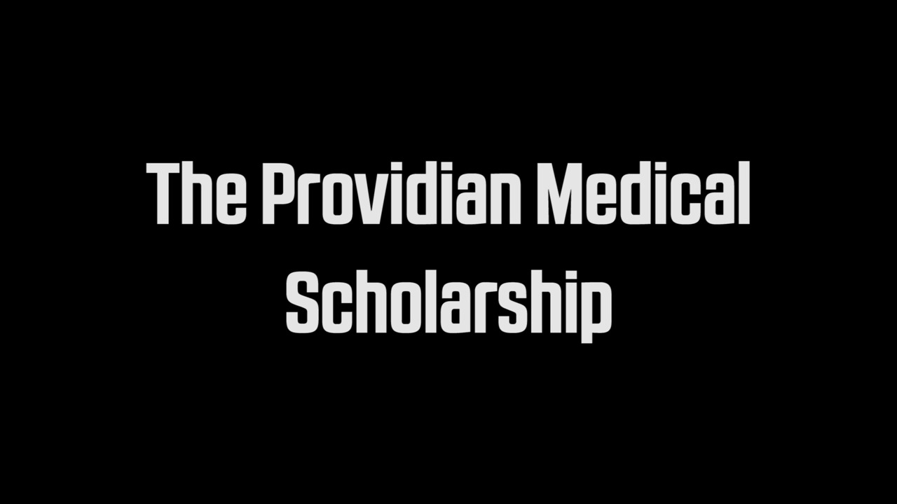 providian medical scholarship entry page
