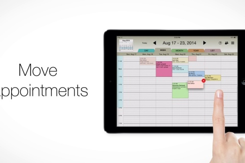Rendezvous Appointment Book - client database app.