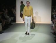 Cor e muita classe no desfile Gucci Primavera 2013 na Milano Moda Uomo